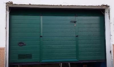 Cambiar cadena de puerta de garaje automática